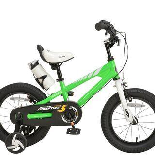 14インチ 子供用自転車 グリーン(5972)