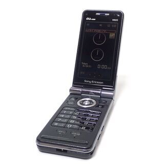 【ネット決済・配送可】D267 au Sony Ericsson...