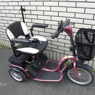 【電動三輪車 電動車椅子 シニアカー】フランスベット  Reha...