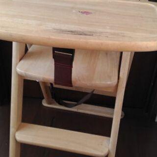 子供椅子 ハイチェア KATOJI木製チェア