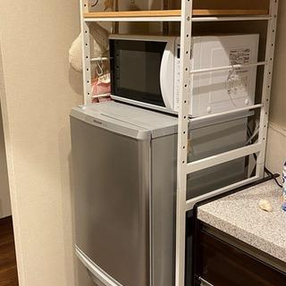 【受渡予定者確定】IKEA 冷蔵庫ラック&折りたたみ机&いす