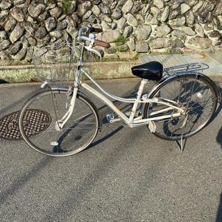 【ネット決済】27インチ 自転車6年間使用