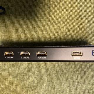 サンワサプライ HDMI分配器 VGA-HDSP4K