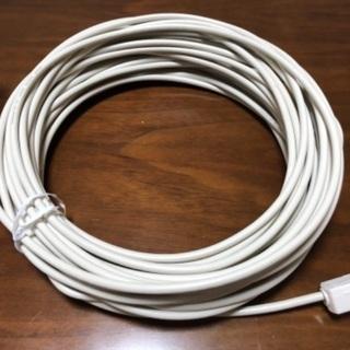 テレビ同軸ケーブル 約18メートル 美品