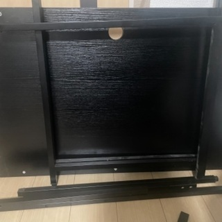 【廃材】黒板と脚