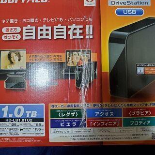 新品未使用外付けハードディスク