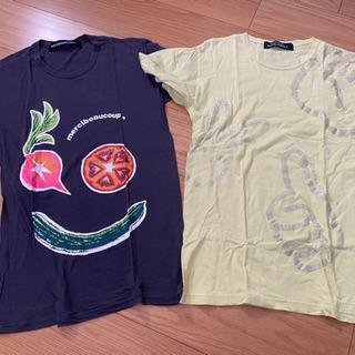 メンズブランドtシャツ美品2枚組