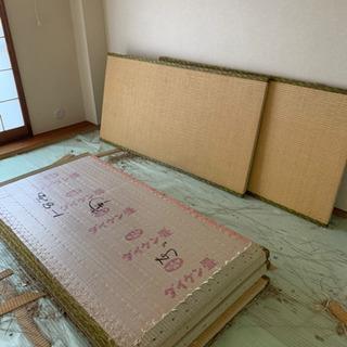 畳【タタミ】無料であげます。2部屋分あります。
