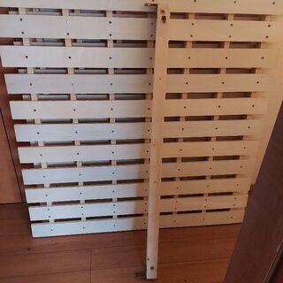 木製シングルロフトベッド