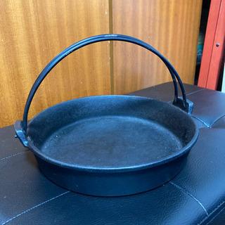 【差し上げます】すき焼き・パエリア・餃子鍋