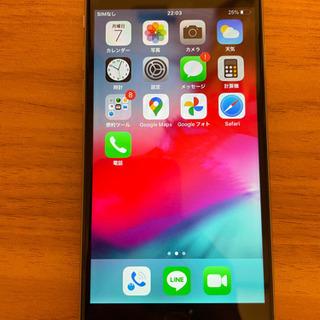 【ネット決済・配送可】バッテリー容量90% iPhone6