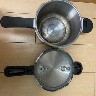 ペール金属の圧力鍋