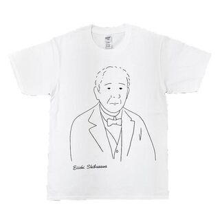 【ネット決済・配送可】渋沢栄一 Tシャツ