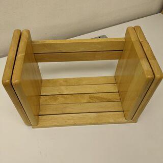 【ネット決済】木製伸縮ブックスタンド