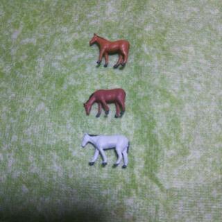 ジオコレ【ザ・動物103馬】鉄道模型Nゲージ