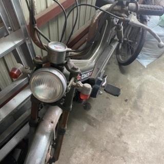 【ネット決済】TOMOS 原付バイク不動車今月中の売却の為大幅値...