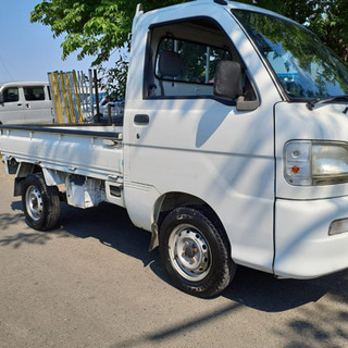 コミコミ20万円、ハイゼット 軽トラ、4WD, エアコン、車検2...