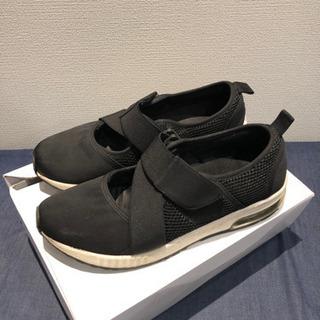 グローバルワーク スニーカー 黒 靴 くつ