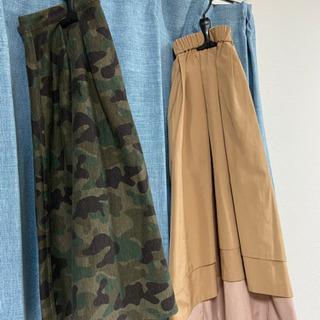 【レディースMサイズ】フレアスカート2点セット