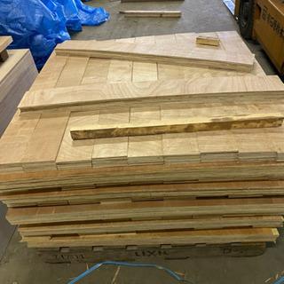 ベニア板の木端材 DIY用に