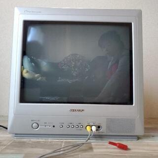 シャープ17インチブラウン管テレビ