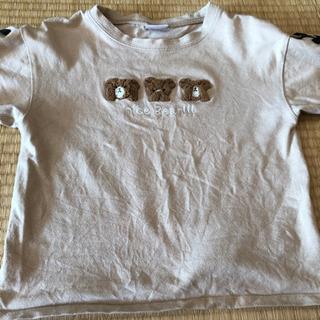 【ネット決済】半袖Tシャツ 可愛いクマ 140