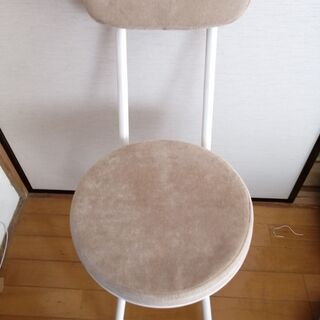折りたたみ 椅子 ホワイト 3点