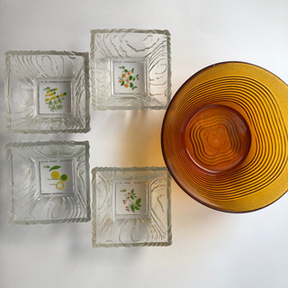 【ネット決済】ガラス鉢 多数