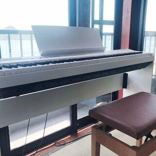 【引取限定】YAMAHA ヤマハ P-105WH 電子ピアノ ホ...