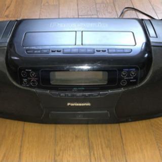 【ネット決済】Panasonic rx-dt701 カセット不良