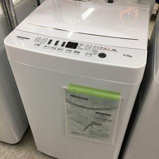 ハイセンス 5.5kg 洗濯機 2019年製