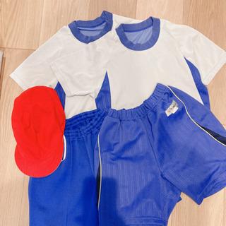体操服 夏用 130 140 赤白帽子 男の子