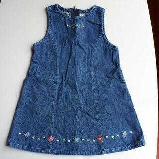 ミキハウスジャンパースカート(110cm)