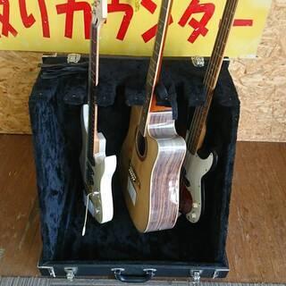 【愛品館市原店】トランク型 6本立て ギター・ベース スタンドケース