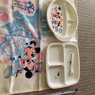 ミッキーマウス アンパンマン 皿 弁当箱 キッチンクロス
