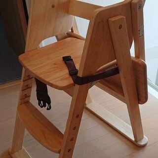 木製 ハイチェア