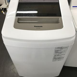 【ネット決済・配送可】😋動作洗浄済み。洗濯機 パナソニック NA...
