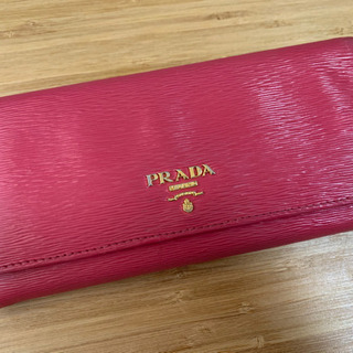 【ネット決済】PRADA 長財布 ピンク