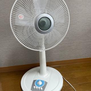 ボタン式扇風機