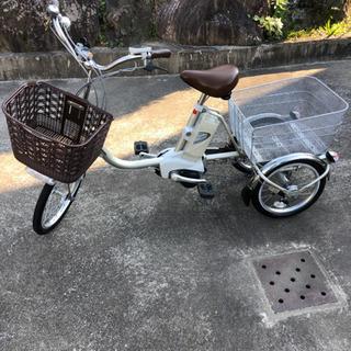 電動アシストpanasonic三輪車カタログ参照して下さい