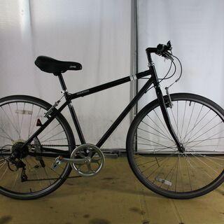 スポーツ中古自転車 B330 ブラック 6段【クロスバイク】