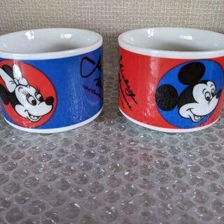 ミッキーマウス、ミニーマウス マグカップ