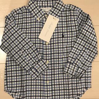 【未使用品】サイズ24M ラルフローレン 長袖シャツ