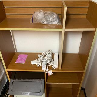 【ネット決済】家具 収納 勉強机