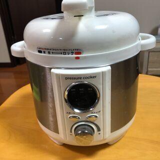 電気圧力鍋1.2L ホワイト