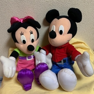 しゃべるミッキーとミニー3000円