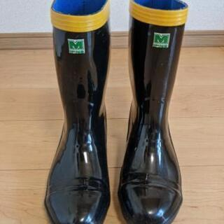 【未使用】安全靴(長靴) 24.5cm