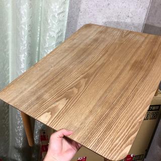 ニトリ 折りたたみテーブル あげますの画像