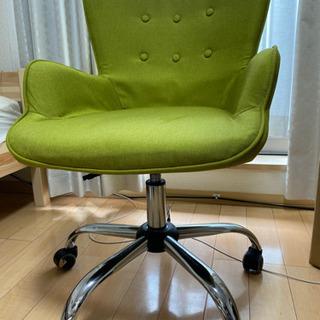 Lawya [幅62/座高面41~48] オフィスチェア パソコンチェア ミドルバック コンパクト:グリーン   - 中野区