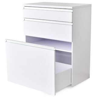 キッチンボード【モナチェスト80cm/ホワイト色】キッチンラック...